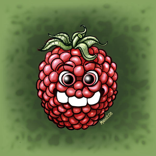 Three Teeth - Raspberry by Manu-2005
