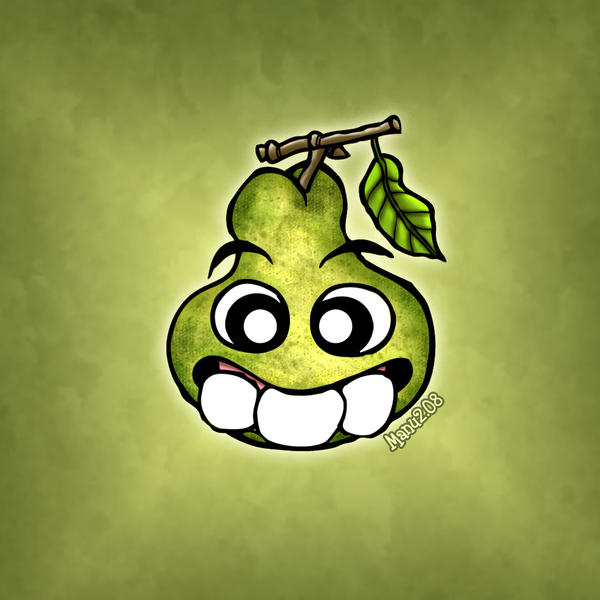 Three teeth - Pear by Manu-2005