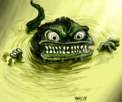 Crapaud mutant by Manu-2005