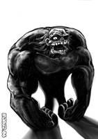 Gorilla Zombie by Manu-2005