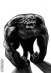 Gorilla Zombie