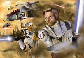 Clone Wars Kenobi by BoldCat