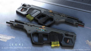 Electric Defense Rifle  [ Tavor Frame ]
