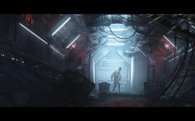 Industrialized - Sci Fi Corridor