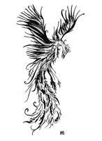 Phoenix Tattoo Desgin by HamysArt
