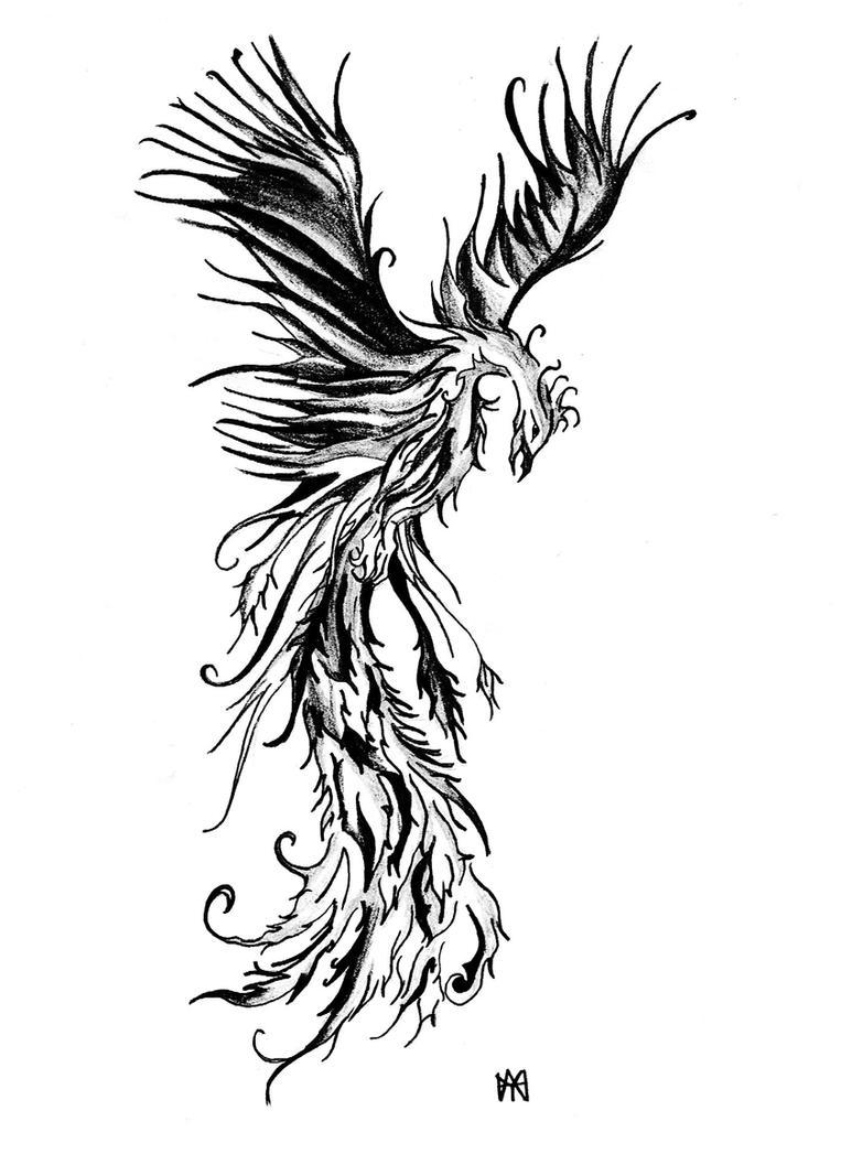 phoenix tattoo desgin by hamysart on deviantart. Black Bedroom Furniture Sets. Home Design Ideas