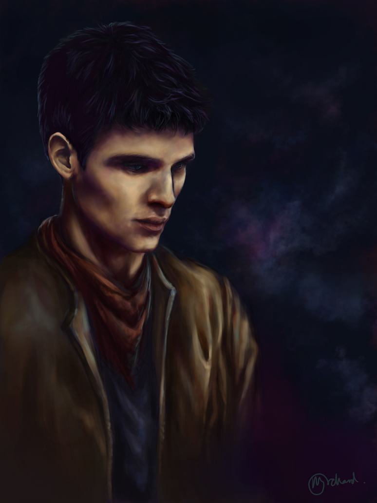 Merlin - Lights by MaddiOrchard