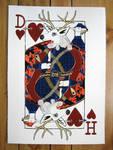 Deer of Hearts Screenprint
