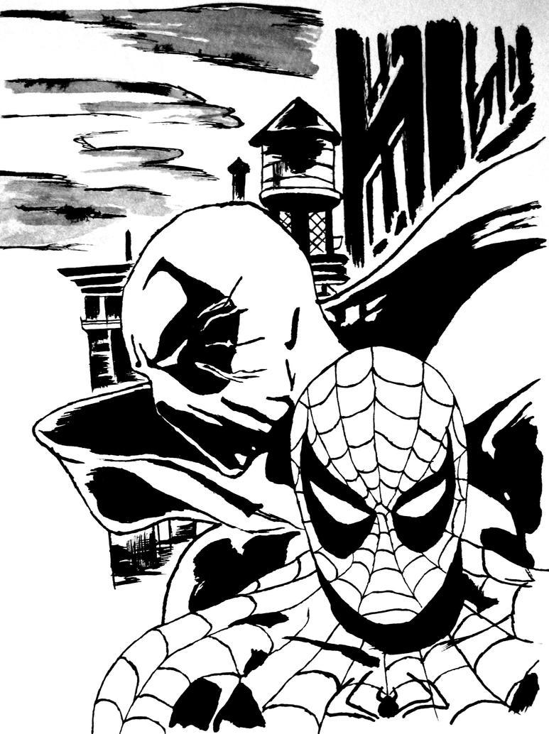 Imagenes De Deadpool Vs Spiderman Para Colorear picture gallery
