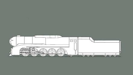 Heliolocomotive P4000-0001 by Shasyo-San