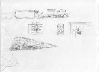 Heliolocomotive P3800-0041 by Shasyo-San
