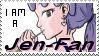 I am a Jen-Fan stamp by illionore