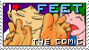 FEET - The Comic - STAMP by illionore