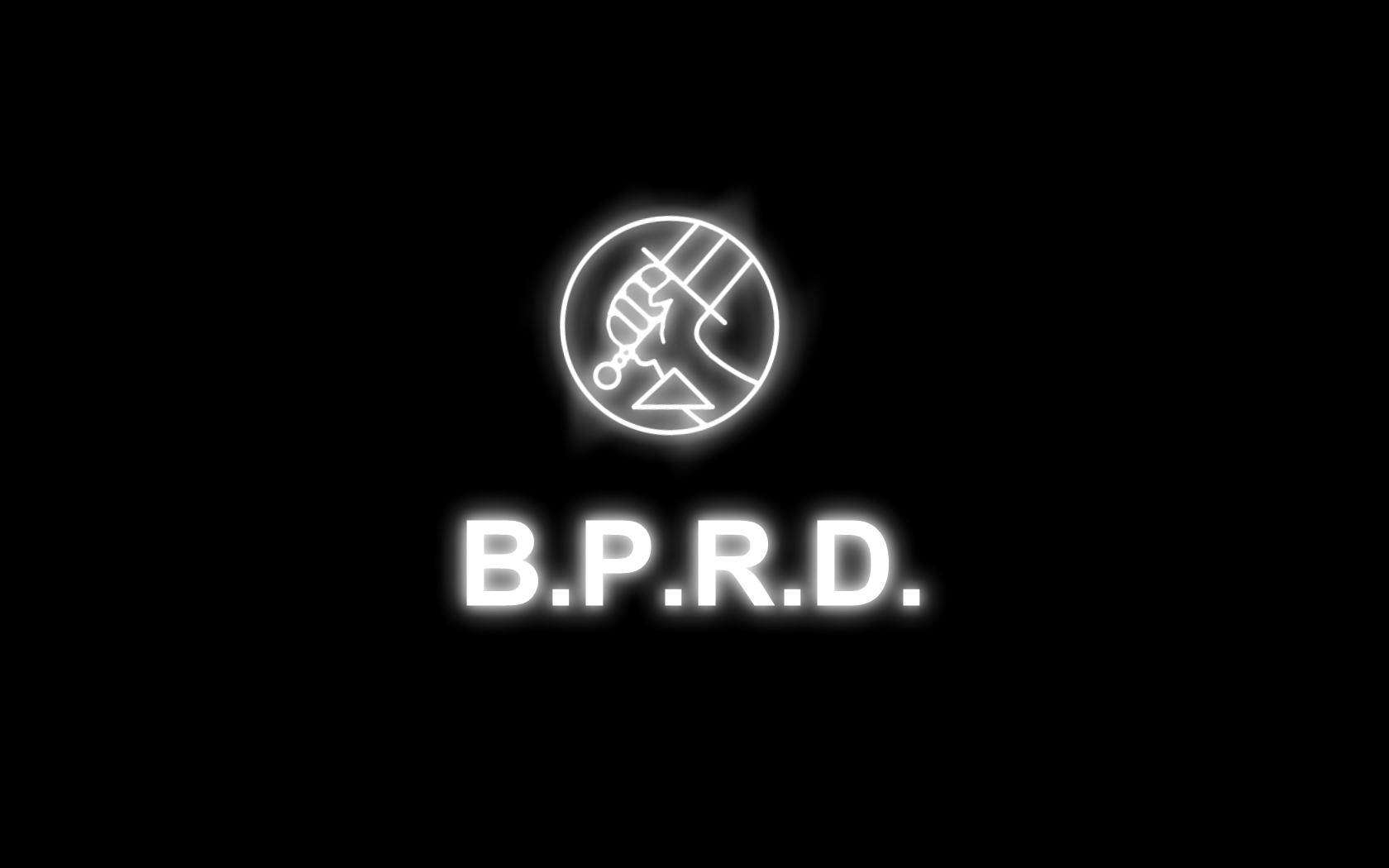B.P.R.D. logo hd blur | B.P.R.D. | Pinterest | Logos
