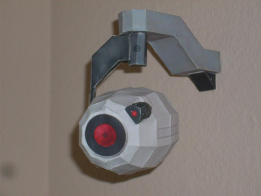 Portal Camera Papercraft by trebory6