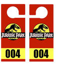 Jurassic Park Parking Permit