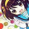 Haruhi Suzumiya Icon by xXChigusaXx