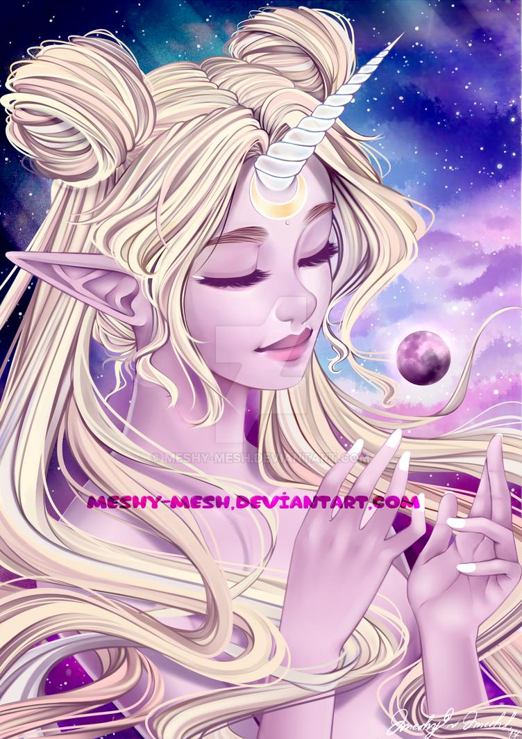 Sailor Moon Unicorn by Meshy-Mesh