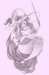 Witch Mermaid by Meshy-Mesh