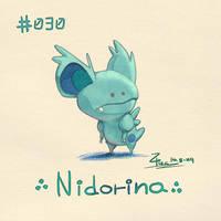 Nidorina by FL-ZC