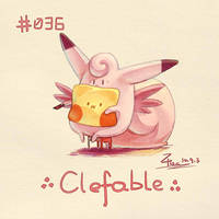 Clefable by FL-ZC