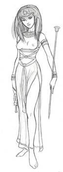 Isis sketch by AriochIV