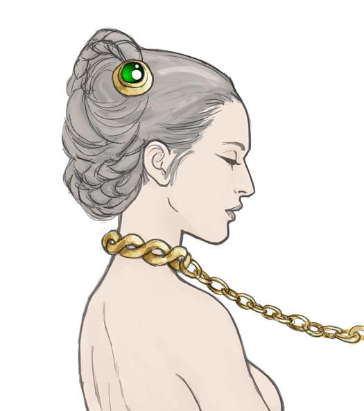 Slave Leia by AriochIV