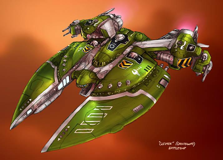 Outsider: Loroi Battleship by AriochIV