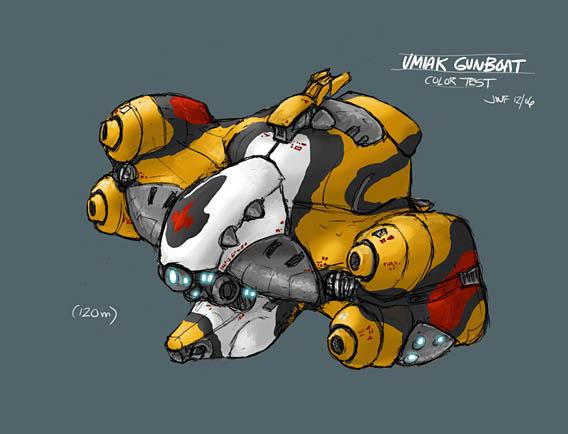 Outsider: Umiak Gunboat by AriochIV