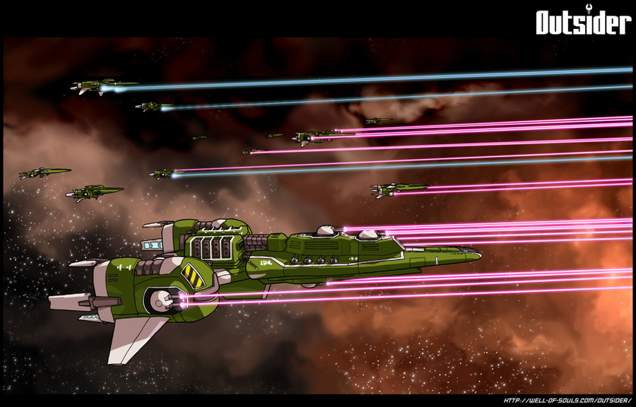 Outsider: Fleet Volley by AriochIV