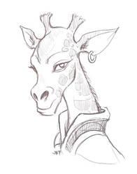 Giraffe by AriochIV
