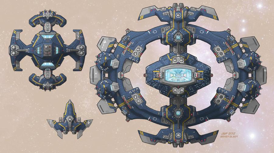 Stars in Shadow: Ashdar Bases by AriochIV