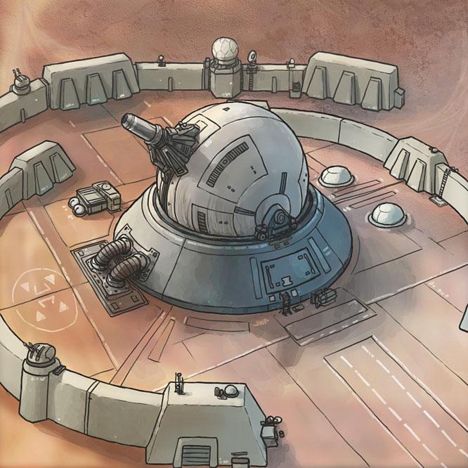 Stars in Shadow: Defense Base by AriochIV