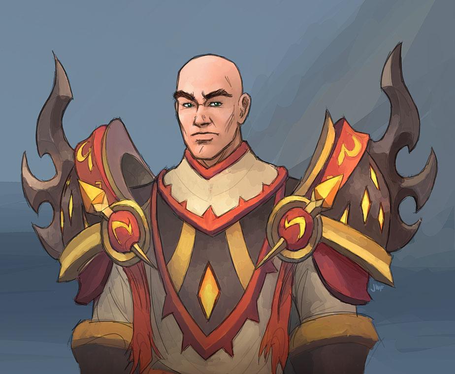 World of Warcraft: Immolation Paladin by AriochIV
