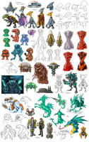 Stars in Shadow: Races Sketchdump