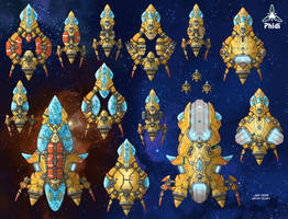 Stars in Shadow: Phidi Ships by AriochIV