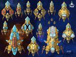 Stars in Shadow: Phidi Ships