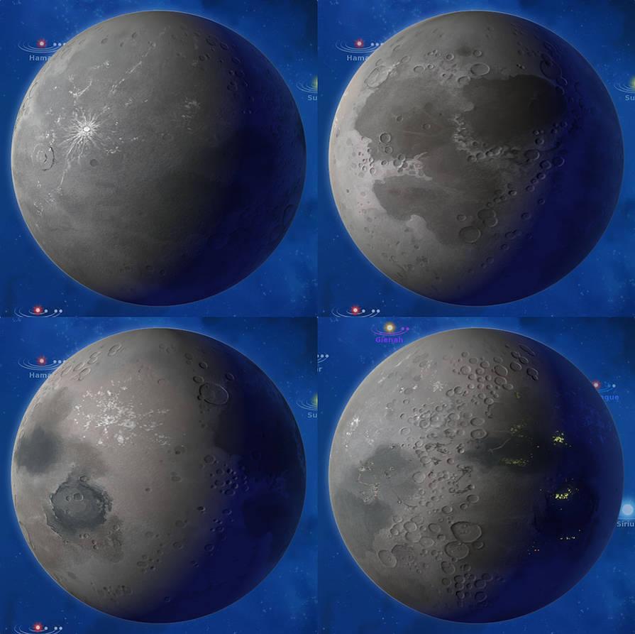 Stars In Shadow Barren Planet Ingame By Ariochiv On Deviantart