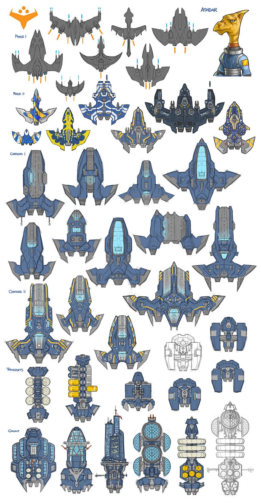 Stars in Shadow: Ashdar Design Thumbnails by AriochIV