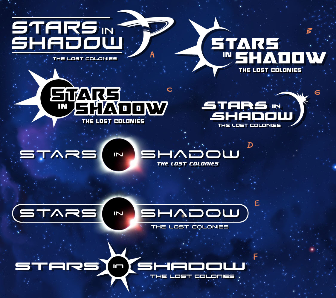 Stars in Shadow: Logo Concepts by AriochIV