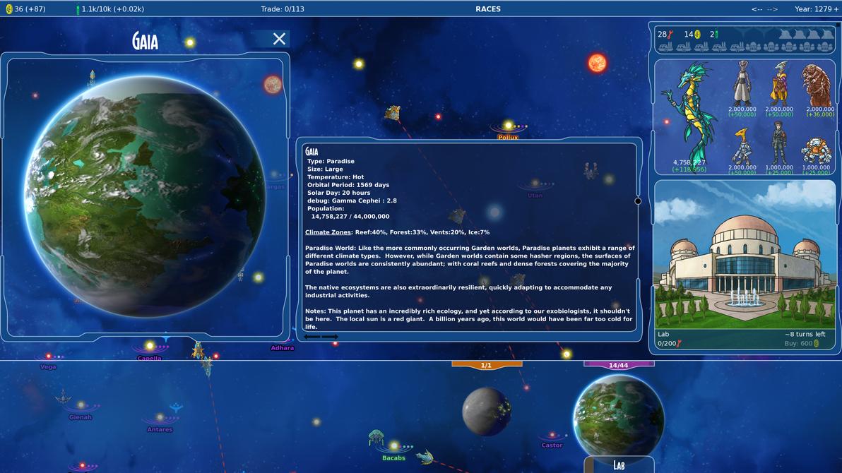 Stars in Shadow: Gaia Populations by AriochIV
