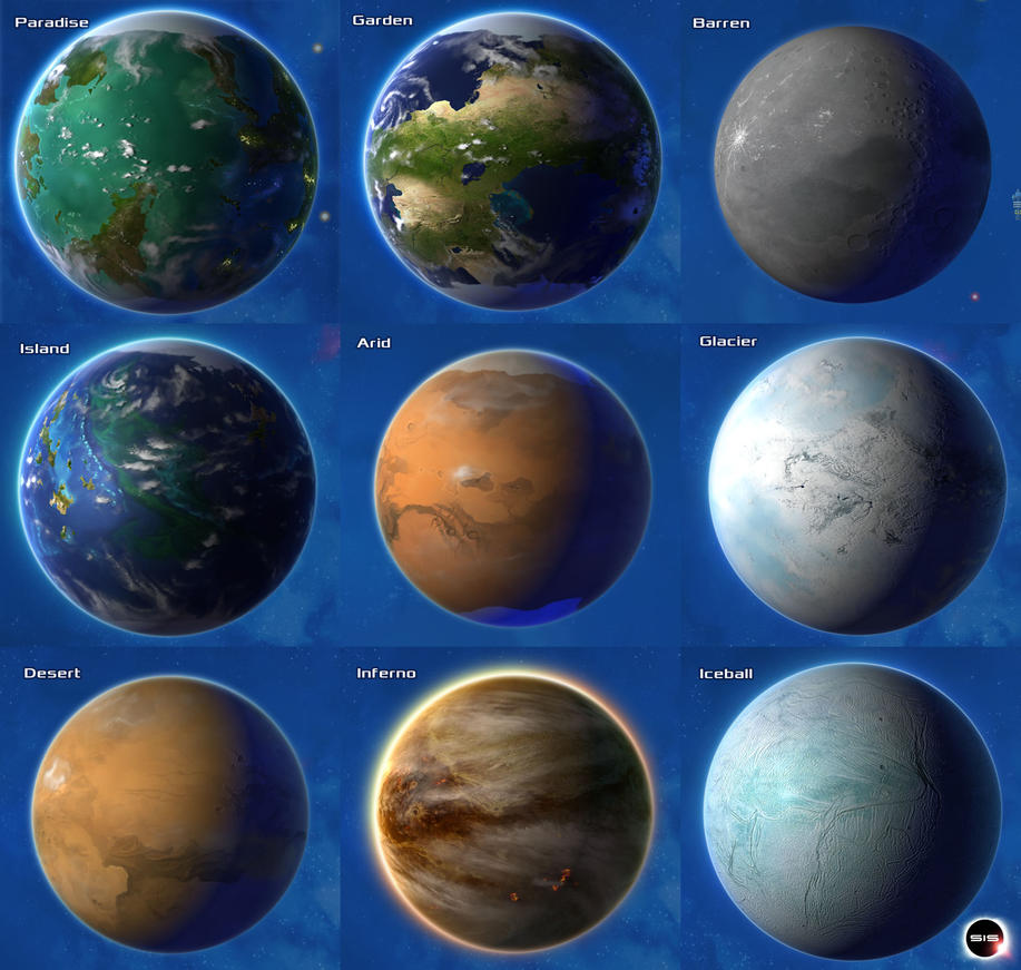 all types of planets - photo #11