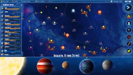 Stars in Shadow: Strategic Map by AriochIV