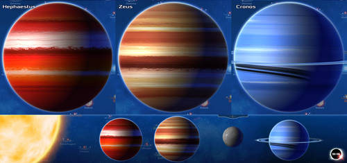 Stars in Shadow: Gas Giants