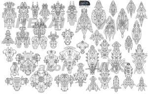 Stellar Conflict: Ship Designs I by AriochIV
