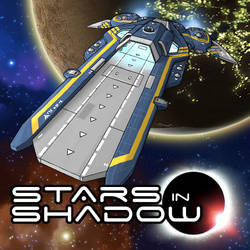 Stars in Shadow: Steam Greenlight Banner
