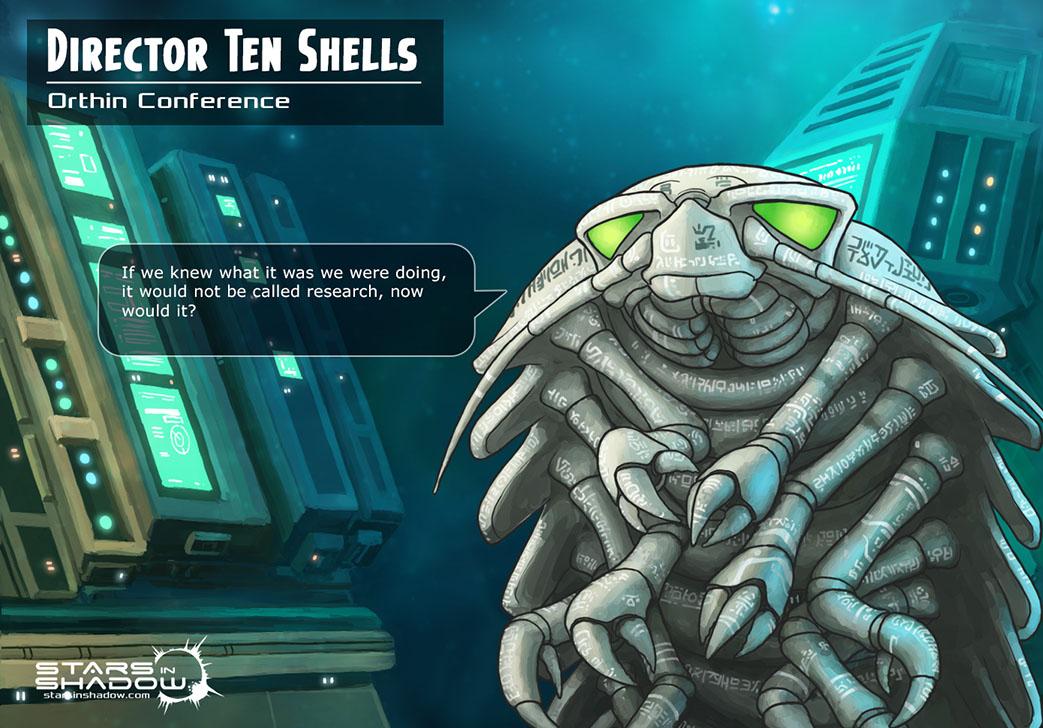 Stars in Shadow: Director Ten Shells by AriochIV