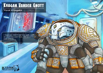 Stars in Shadow: Khagan Vander Gnott by AriochIV
