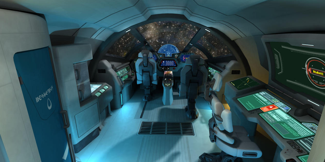 Outsider: Highland Cockpit render by AriochIV