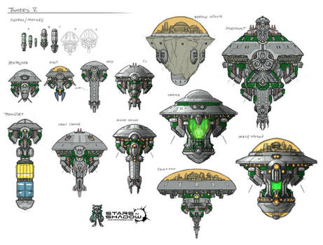 Stars in Shadow: Tinkers Ship Concepts